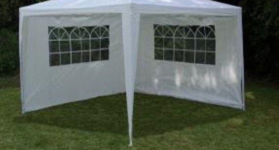 Ściany boczne do namiotu 3301-PE 2 szt. Biały